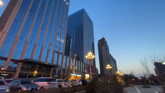 银川火车站夜景图片