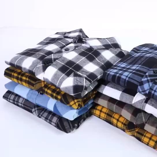 高品质纯棉水洗衬衫M~4XL