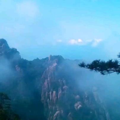 中国江西三清山风景