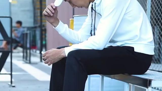 花花公子男士休闲裤秋季厚款直筒宽松西装裤青中年秋冬款长裤子男