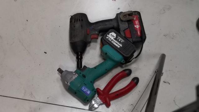 大艺锂电扳手简单拆机视频分享 和维修行业的一些规则