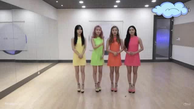 韩国舞蹈深蹲开胯女团