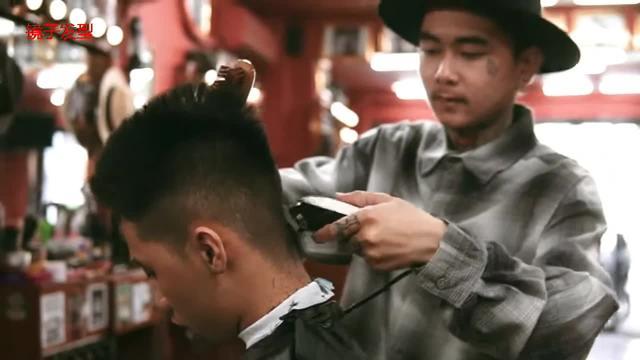 男士雕刻发型图片