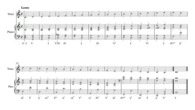 法国视唱 1A,钢琴伴奏谱 - 1A-003 piano!