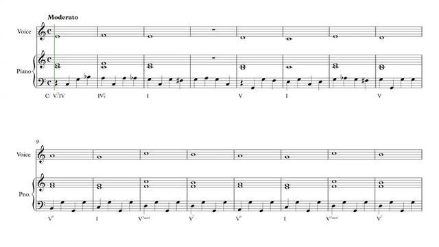 法国视唱 1A,钢琴伴奏谱 - 1A-012 piano!