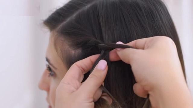 超短发怎么扎好看图解