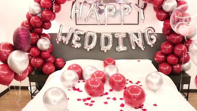 魔术气球教程,简单气球拱门教程,婚房气球布置教程视频