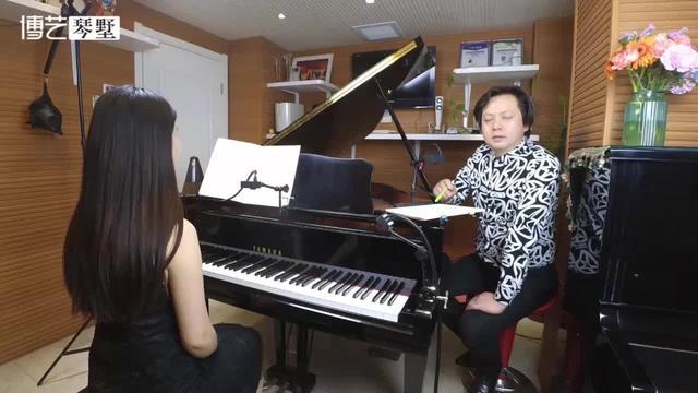 纺织歌布格缪勒钢琴谱
