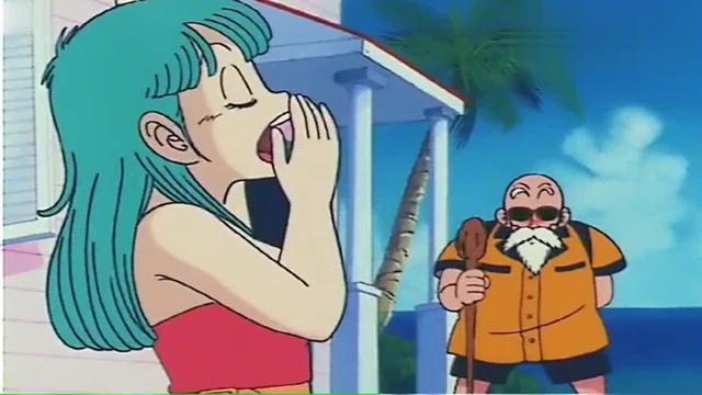 七龙珠:龟仙人疯狂给布玛递饮料,想法太污了!