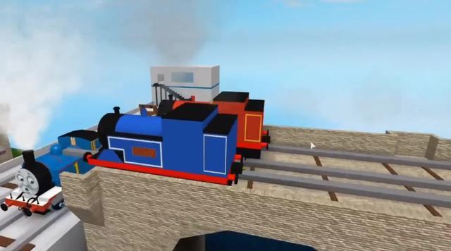 托马斯小火车穿过彩色的通道变颜色,儿童早教动画片