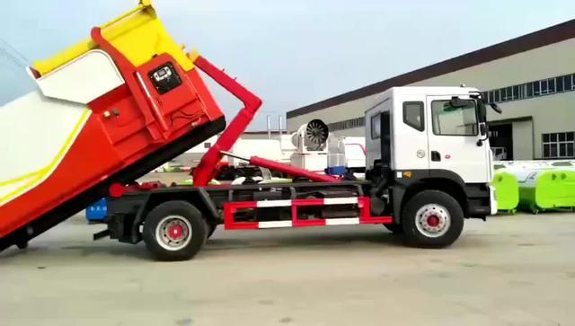 钩臂式垃圾车-钩臂式垃圾车批发、促销价格、产地货源 - 阿里巴巴