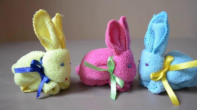 鉤針小兔子玩偶