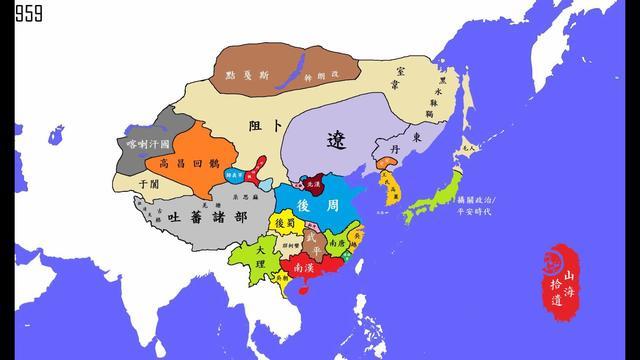 北宋地图最大时全图