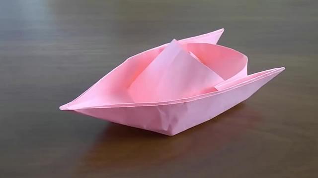小学生手工纸船视频