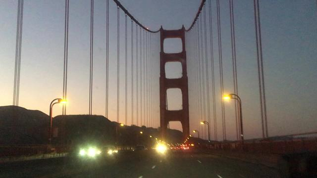世界上出镜率最高的大桥,美国金门大桥!
