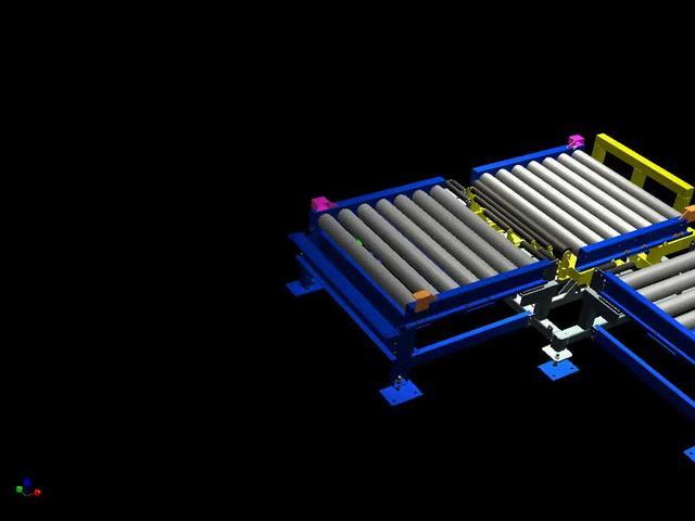 皮带输送机结构图