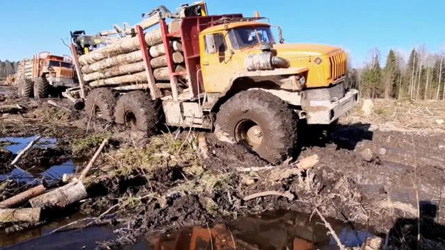 俄罗斯乌拉尔卡车