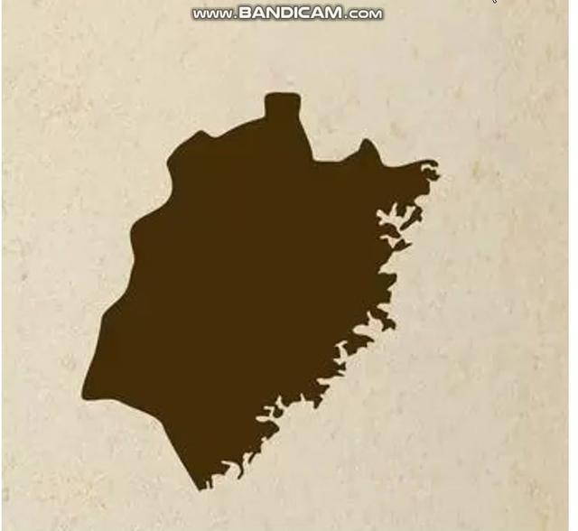 看中国地图,各省的划界包裹弯曲而不是简单的横平竖直,为什么?