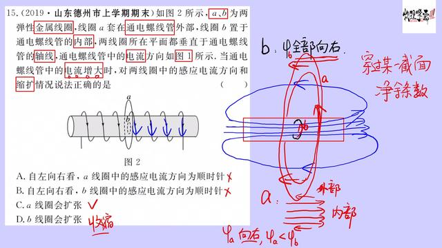 物理磁场大题公式