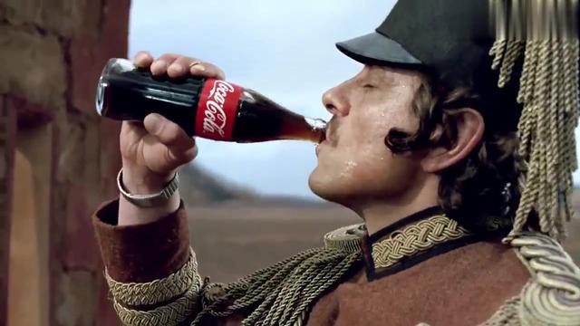 可口可乐图片创意黑色