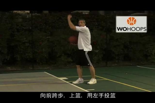 三步上篮篮球图片