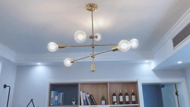 7款北欧风格客厅吊灯搭配,你喜欢哪一款