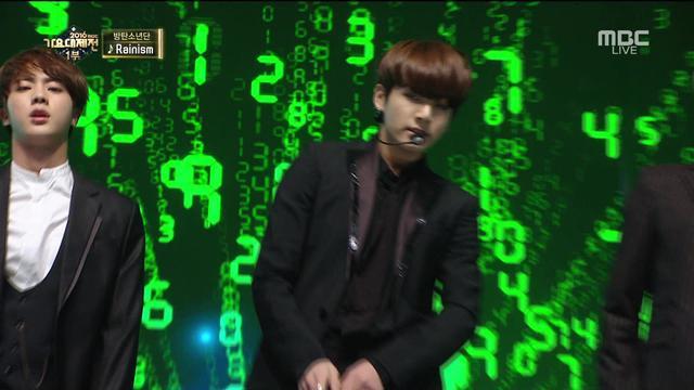 防弹BTS Rainism  MBC Gayo Daejun,西装小哥哥这舞蹈越看越爱。