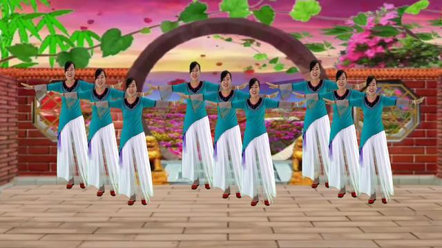 柔美漂亮的 零基础舞蹈《烟花三月下扬州》