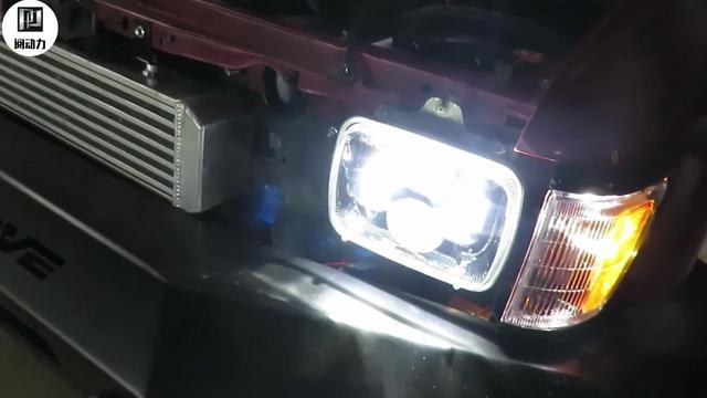 马自达3 昂克赛拉 车灯升级海拉五双光透镜 原装全新大灯改装