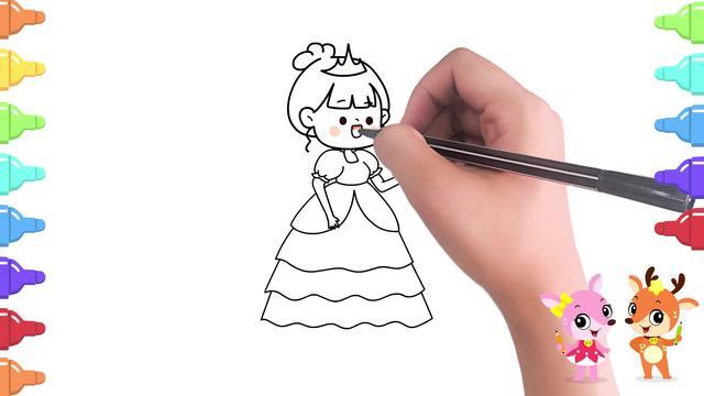 简笔画可爱