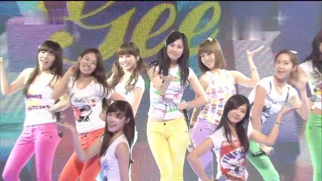 少女时代热门歌曲《GEE》繁体中文字幕现场版090327