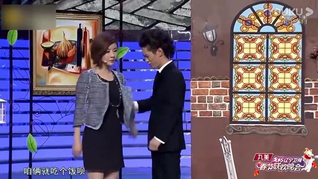 [我爱满堂彩]小品《落叶归根》 表演:王宁 常远 艾伦... _央视网