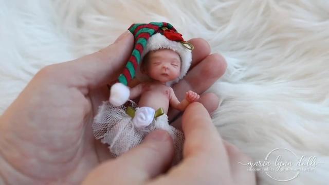 拿在手里的掌中宝宝,迷你的茶杯婴儿,女孩子最爱的仿真娃娃