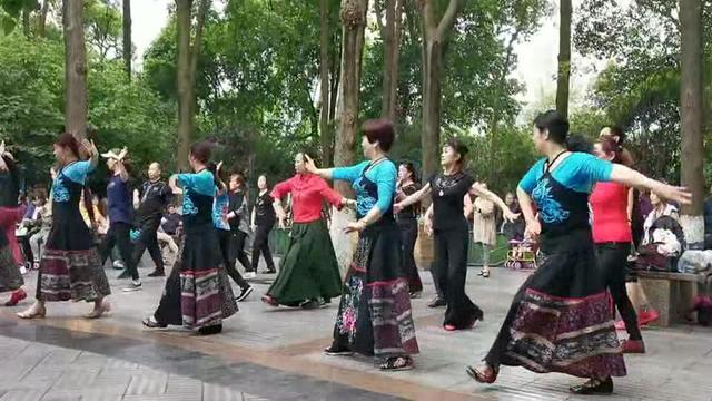 广场舞(蒙古族舞蹈):草原情