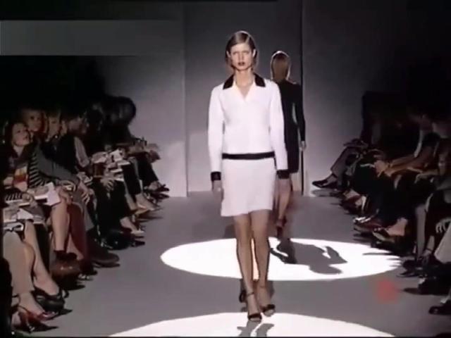 透视时装秀2019 法国春夏透明时装周,典雅高贵