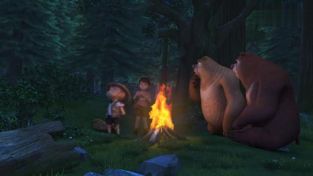熊出没:赵琳来森林找老虎,被熊大熊二当敌人,这下误会大了!