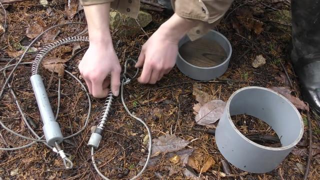 野猪绳套陷阱制作图解-「动物诱捕器」-马可波罗网