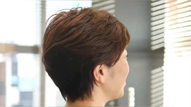 女生好看的露耳短发发型图片 示范露耳短发如何扎... _西子美发网
