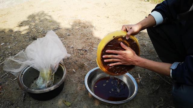 制作蜂蜜柚子茶的图片