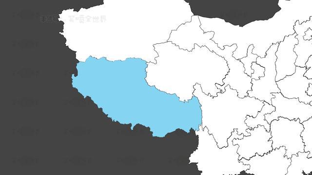 西藏地图高清版大图片