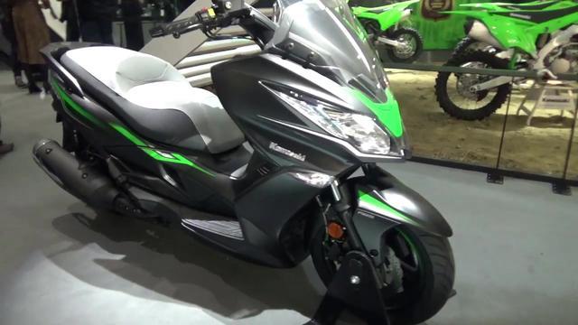 2018 川崎Kawasaki J300 踏板摩托车_车家号_汽车之家