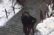上海大学生华山失联6天 积雪加大搜救难度无法手机定位