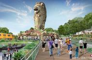 新加坡圣淘沙多个景区将翻新 鱼尾狮通道区增建高架走道