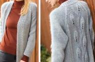 冬季穿衣保暖又时尚!分享几十款漂亮的开衫毛衣外套