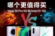 China be opposite for Mate 30 Pro definitely SamSung Note10+ ! A piece of graph understands: Who is