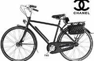 香奈儿自行车,我也愿意做一个简单的女孩,坐在自行车后座上笑