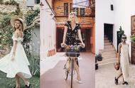 好喜欢Chiara Ferragni的海岛度假风穿搭