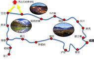 成都旅游路线规划