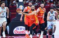 男篮世界杯最终排名:西班牙冠军,美国第7,中国队第24历史最差