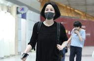 With did Xie Ting sharp edge get married? The Wang Fei after the day shows body airport mood auspici